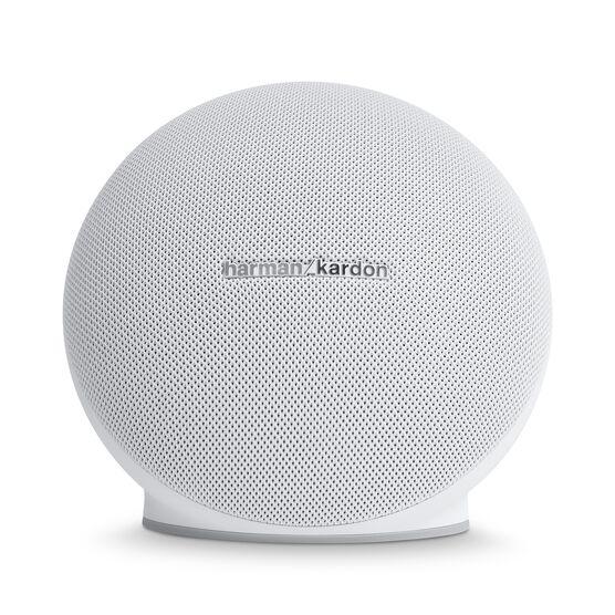 Onyx Mini - White - Portable Bluetooth Speaker - Front