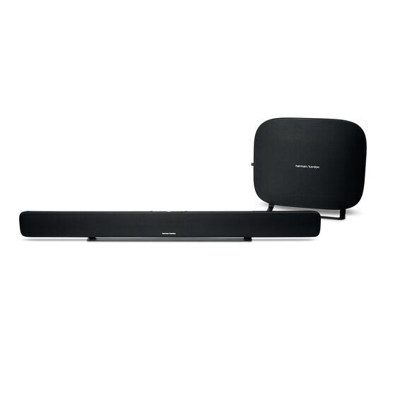 Omni Bar Plus - Black - Wireless HD Soundbar - Hero