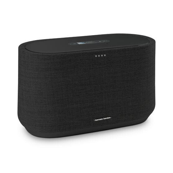 Harman Kardon Citation 300 - Black - The medium-size smart home speaker with award winning design - Hero