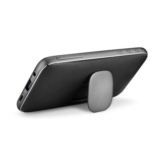 Harman Kardon Esquire Mini 2 - Black - Ultra-slim and portable premium Bluetooth Speaker - Back