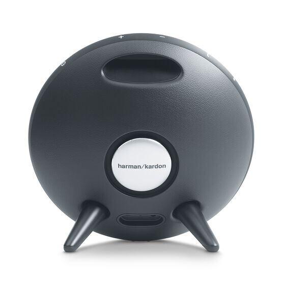 Onyx Studio 3 - Grey - Portable Bluetooth Speaker - Back