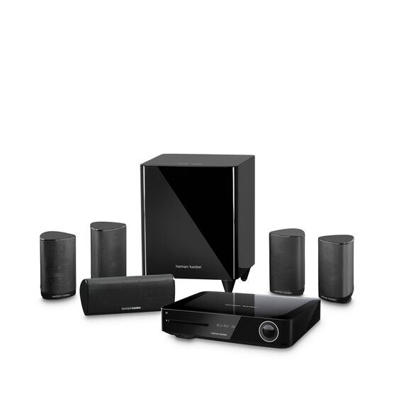 BDS 685S - Black - 5.1-channel, 525-watt, 4K upscaling Blu-ray Disc™ System with Spotify Connect, AirPlay and Bluetooth® technology. - Hero
