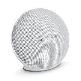Onyx Mini - White - Portable Bluetooth Speaker - Hero