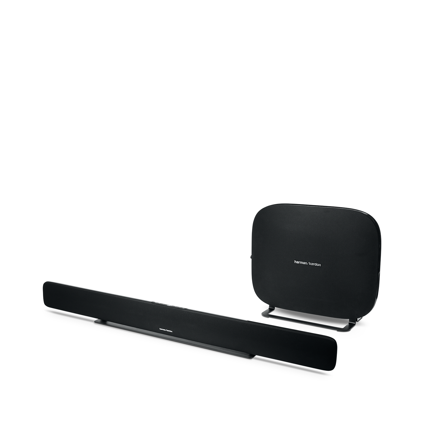 Omni Bar Plus - Black - Wireless HD Soundbar - Left