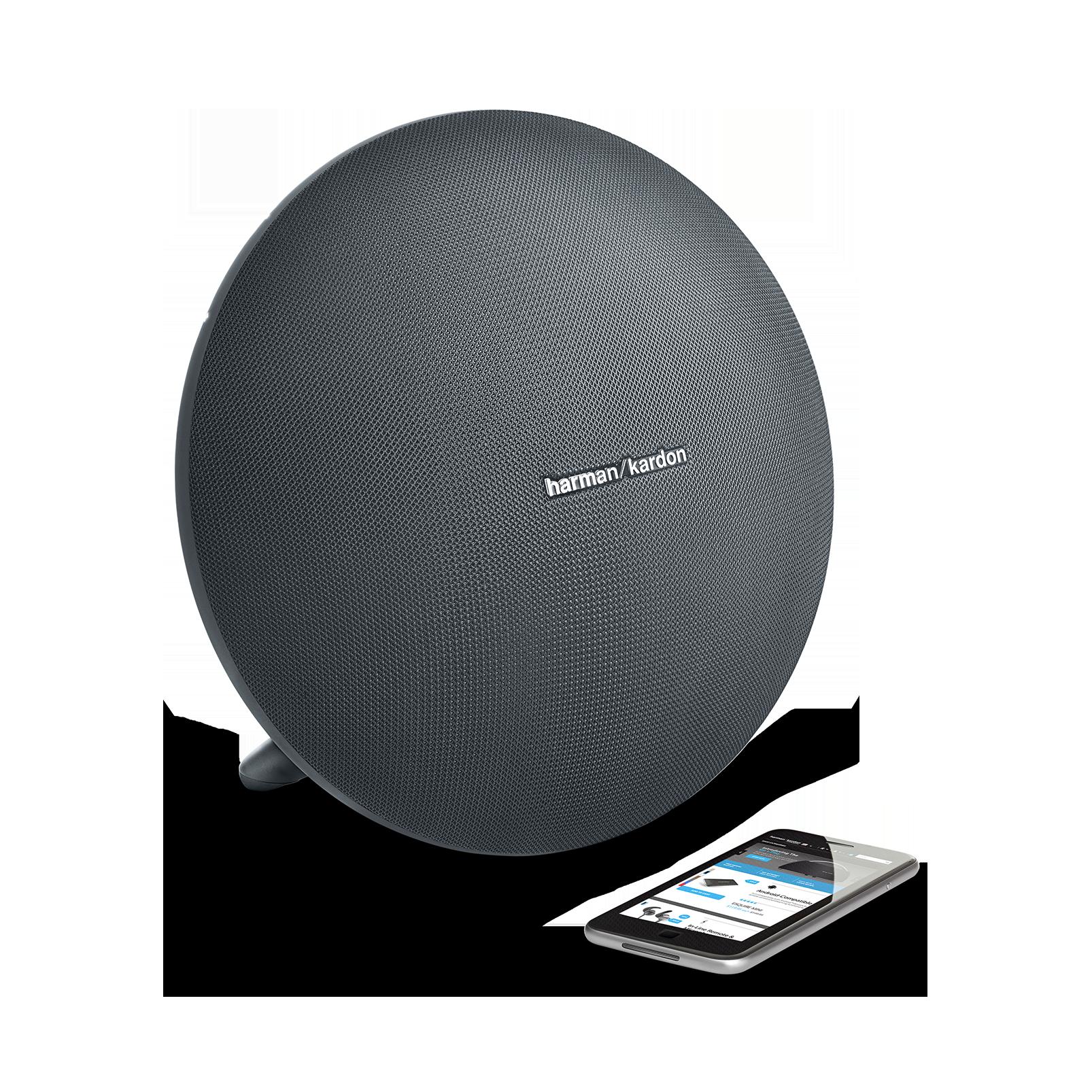 Onyx Studio 3 - Grey - Portable Bluetooth Speaker - Detailshot 1