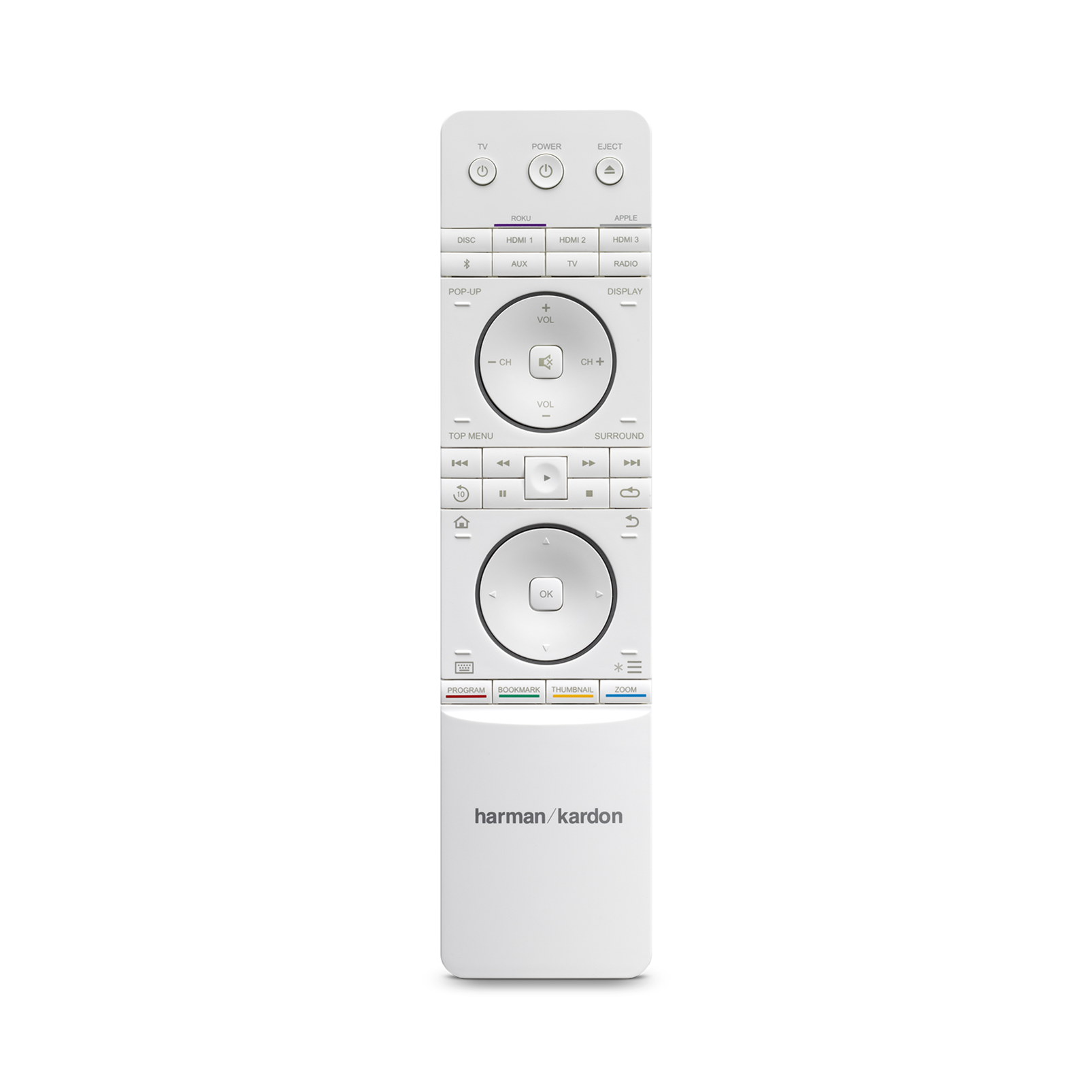 BDS 485S - White - 2.1-channel, 330-watt, 4K upscaling Blu-ray Disc™ System with Spotify Connect, AirPlay and Bluetooth® technology. - Detailshot 4