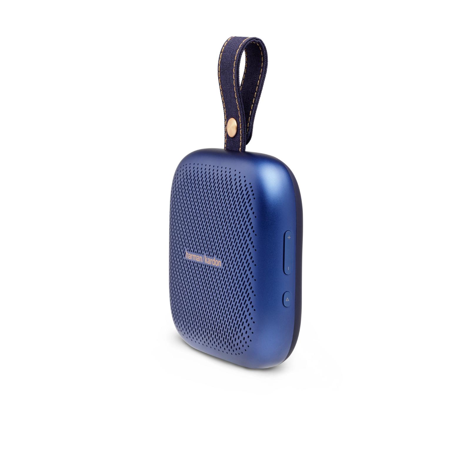 Harman Kardon Neo - Midnight Blue - Portable Bluetooth speaker - Left