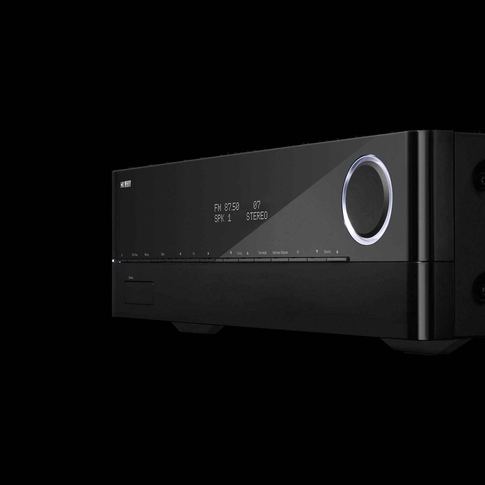 HK 3770 - Black - 240 watt stereo receiver with network connectivity - Detailshot 1