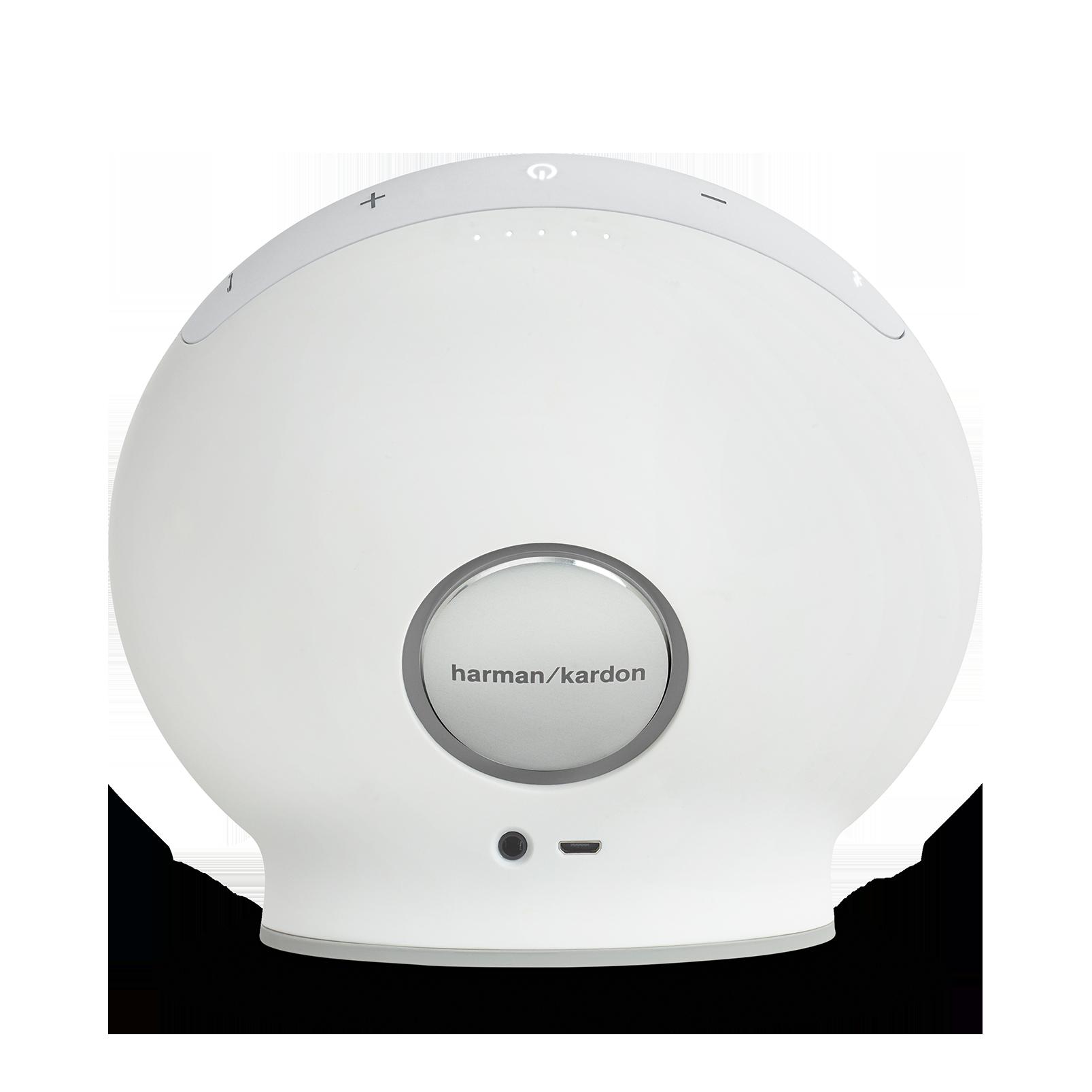 Onyx Mini - White - Portable Bluetooth Speaker - Back