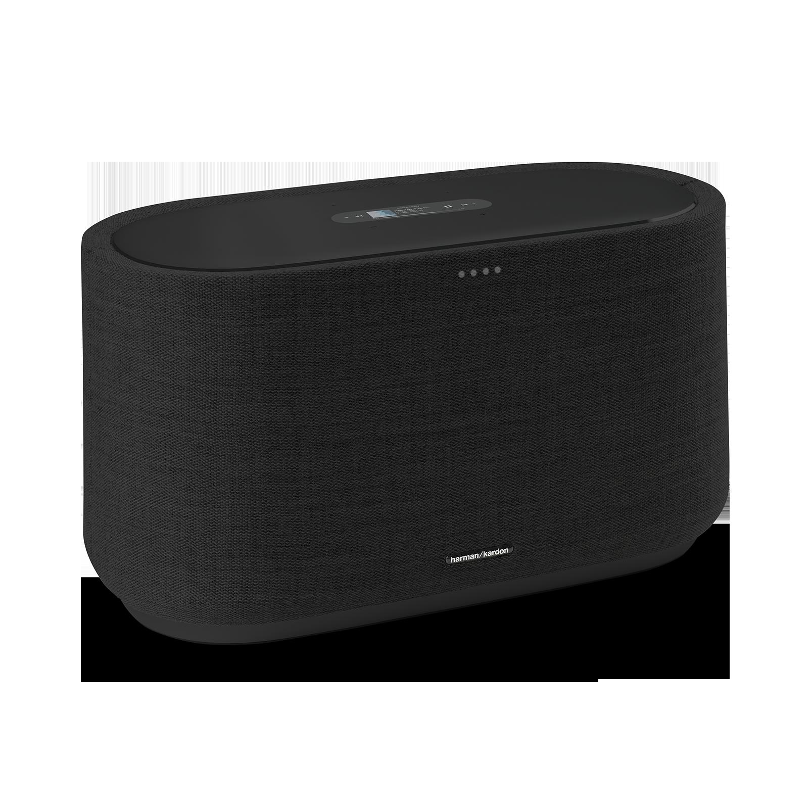 Harman Kardon Citation 500 - Black - Large Tabletop Smart Home Loudspeaker System - Hero